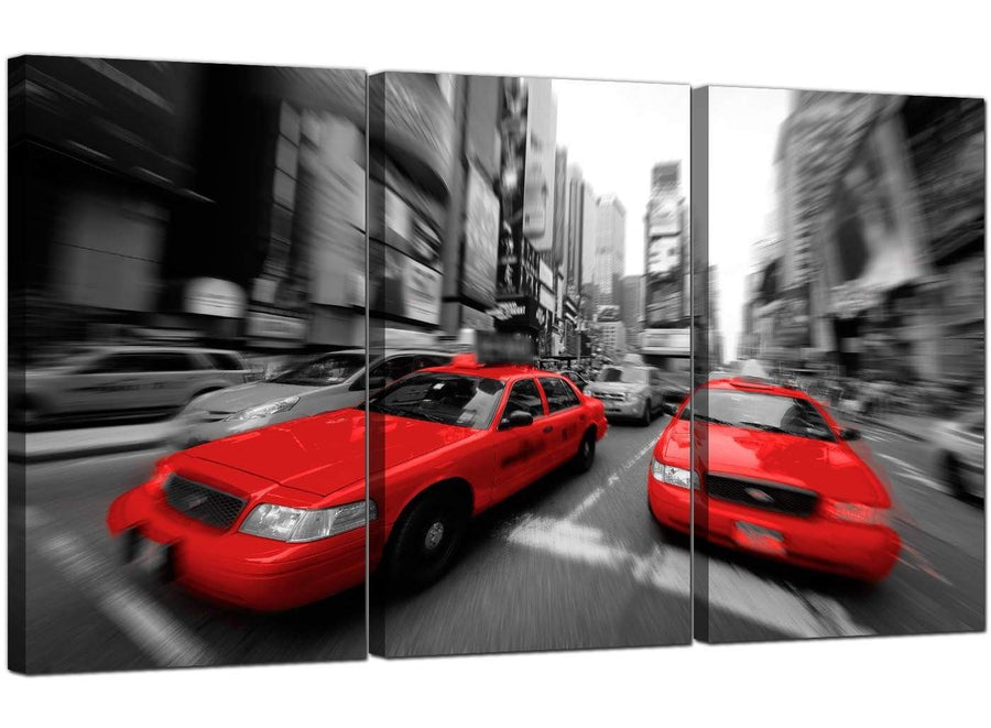 3 Part Cityscape Canvas Prints New York United States 3025