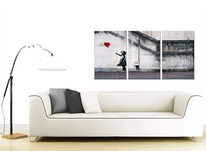 Set of 3 Urban Canvas Wall Art 125cm x 60cm 3050