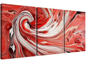 set of three abstract swirl canvas pictures living room 3265
