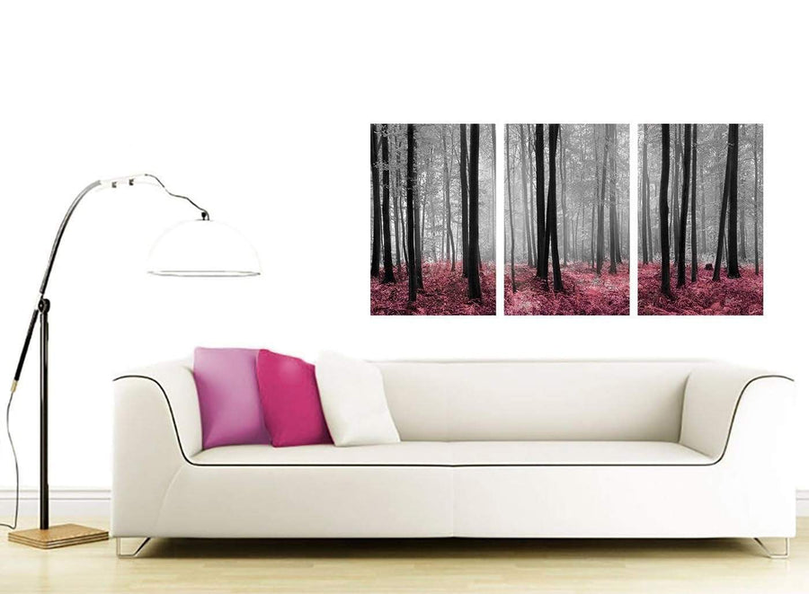 set of three landscape canvas prints uk girls bedroom 3241