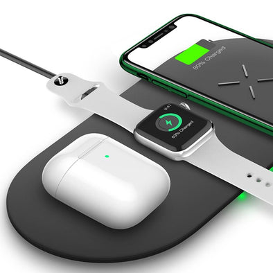 3 In1 Wireless Charging Pad