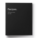 Minimalist Recipe Binder