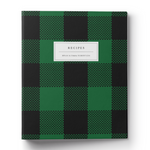 Buffalo Check Recipe Binder & Printable Recipe Card