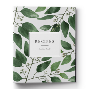 Eucalyptus Recipe Binder & Printable Recipe Card