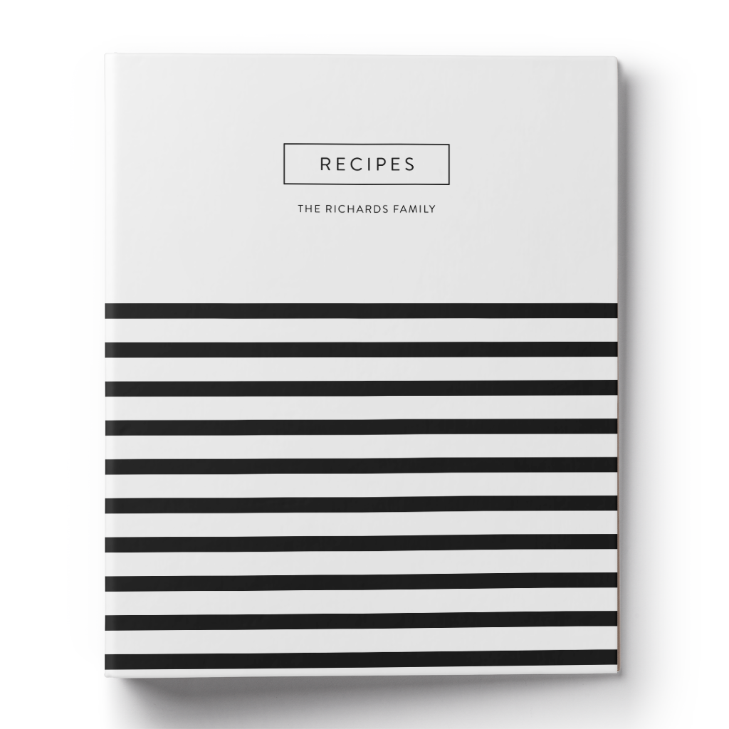 Little Stripe Recipe Binder