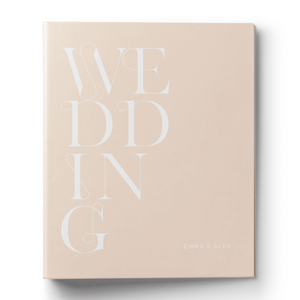 Bold Type Wedding Planning Binder