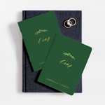 Mountain Wedding Vow Book Set