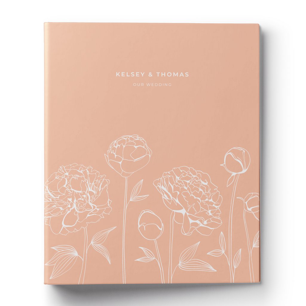 Peony Wedding Planning Binder & Printable Planner