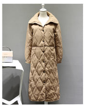 Load image into Gallery viewer, Fitaylor Autumn Winter Women Long Coat White Duck Down Jacket Female Ultra Light Down Coat Parka Outerwear Tops