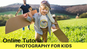 Photography Course for Little Explorers - The Adventures of Pili