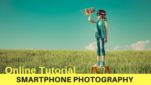 Smartphone Photography Tutorial - The Adventures of Pili
