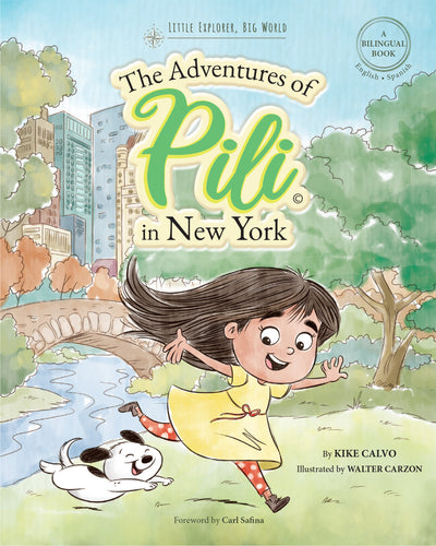Instant PDF Download . The Adventures of Pili in New York | 8×10