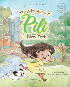 Instant PDF Download . The Adventures of Pili in New York | 8×10"