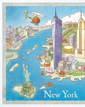 Load image into Gallery viewer, Instant PDF Download . The Adventures of Pili in New York | 8×10"
