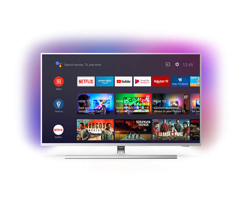 "Philips 65PUS8505/12 65"" 4K UHD LED Android TV med Ambilight 3-sidet hos Butik24"