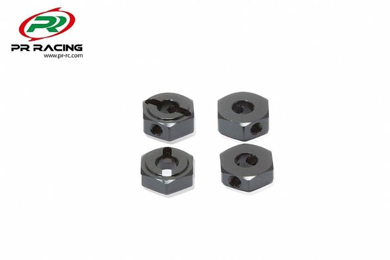 xPR Racing Wheel Hex Nut (12x4.2mm) (4pcs)