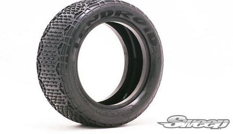 "Sweep 10Droid 2.2"" 4WD 1/10 Front Buggy Tires (2)"