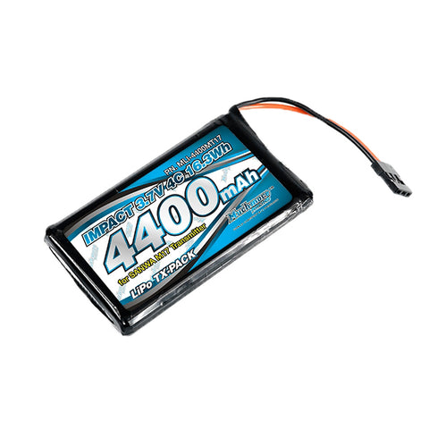MuchMore Racing IMPACT Li-Po Battery 4400mAh/3.7v – Sanwa M17