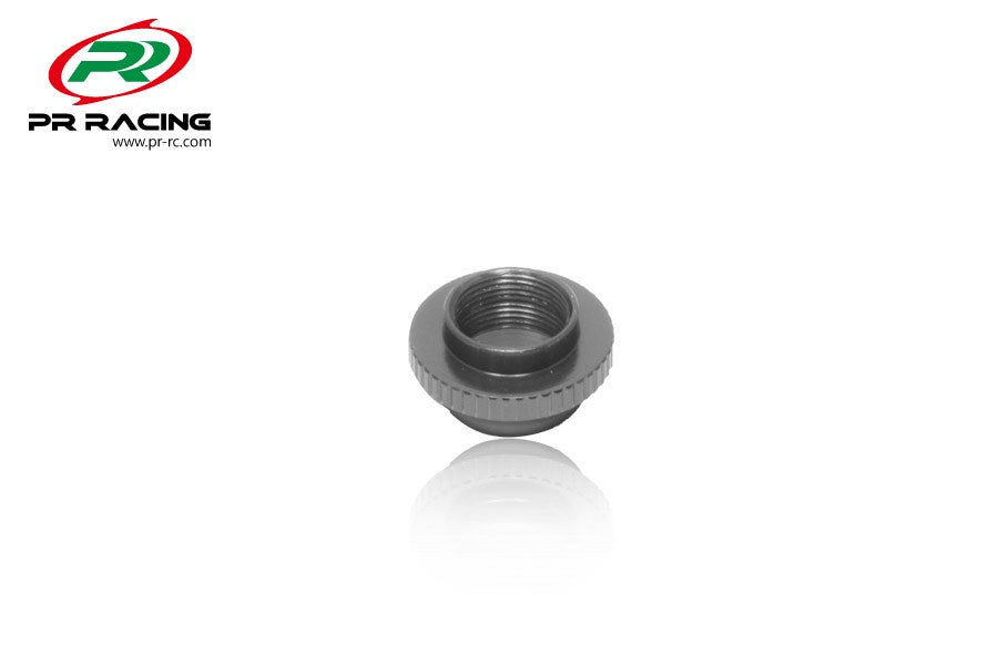 PR Racing - Steering Cap - Black