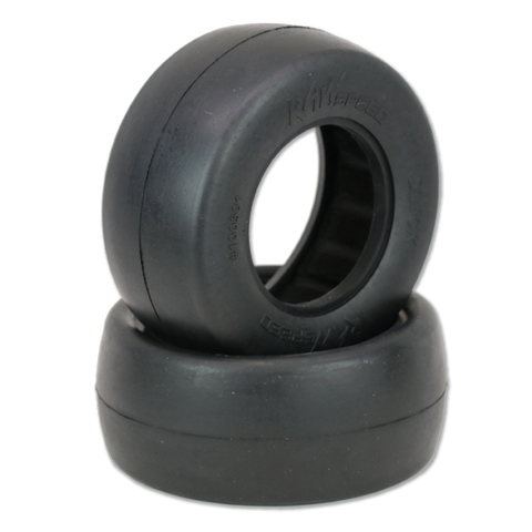 "Slick - Short Course Tires w/Inserts 2.2x3"" (1 pr)"