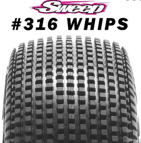 Sweep 8th Buggy WHIPS #316 - Premount
