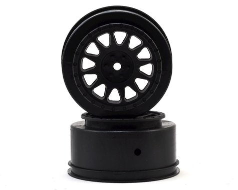 Team Associated 12mm Hex Method Wheels (Black)