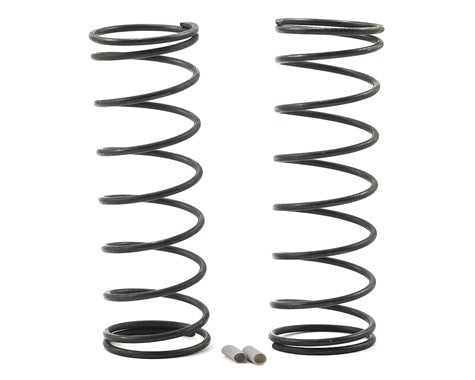 Team Associated RC8B3.1 Front V2 Shock Spring Set (Gray - 5.3lb/in) (2)