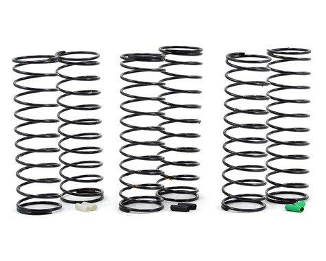 Team Associated 12mm Big Bore Rear Shock Spring Kit (3) (Soft)