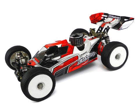 "Bittydesign ""Force"" TLR 8IGHT 4.0 1/8 Buggy Body (Clear)"