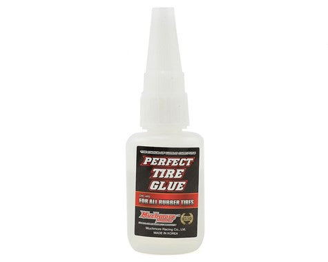 Muchmore Perfect Tire Glue(0.7oz) Include two stainless nozzles