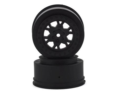 "Pro-Line Impulse 2.2""/3.0"" Short Course Wheels (Black) (2) (SCTE 4x4, SC10 4x4, SCT410 & all ProTrac) w/12mm Hex"