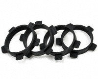 ProTek R/C 1/10 Off-Road Buggy & Sedan Tire Mounting Bands (4)