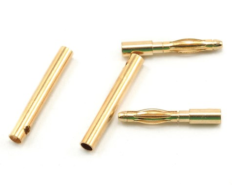 ProTek RC 2.0mm Gold Plated Inline Connectors (2 Male/2 Female)