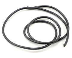 ProTek RC 12awg Black Silicone Hookup Wire (1 Meter)
