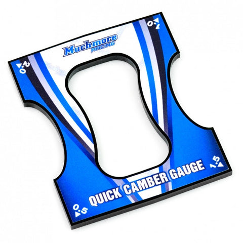 Quick Camber Gauge <0.5 to 2.0 Angle 0.5step> for 1/10 Touring & F1 cars