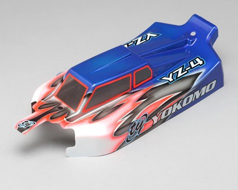 Yokomo JConcepts YZ-4S 1/10 4WD Buggy Body (Clear)