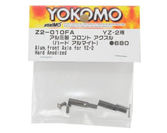 Yokomo Aluminum YZ-2 Front Axle w/Ti Screws (2) (Hard Anodized)