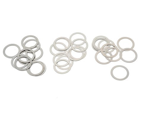 Yokomo 10mm Stainless Steel Shim Kit (30)