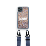 iPhone : Customised Glitter Case With Lanyard