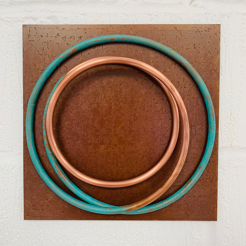 Copper in Verdigris I