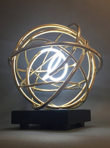 Gold Neon Orb