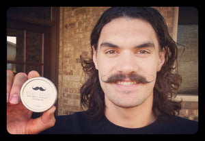 Steven Adams' Gentlemen's Moustache Styling Wax