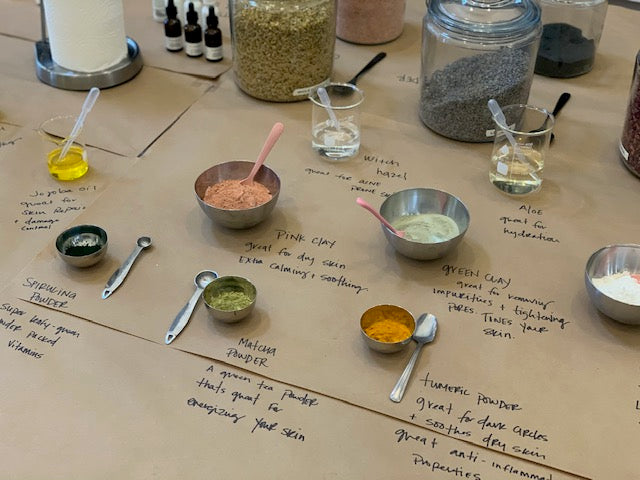 clay masks MARCH 25TH 2020