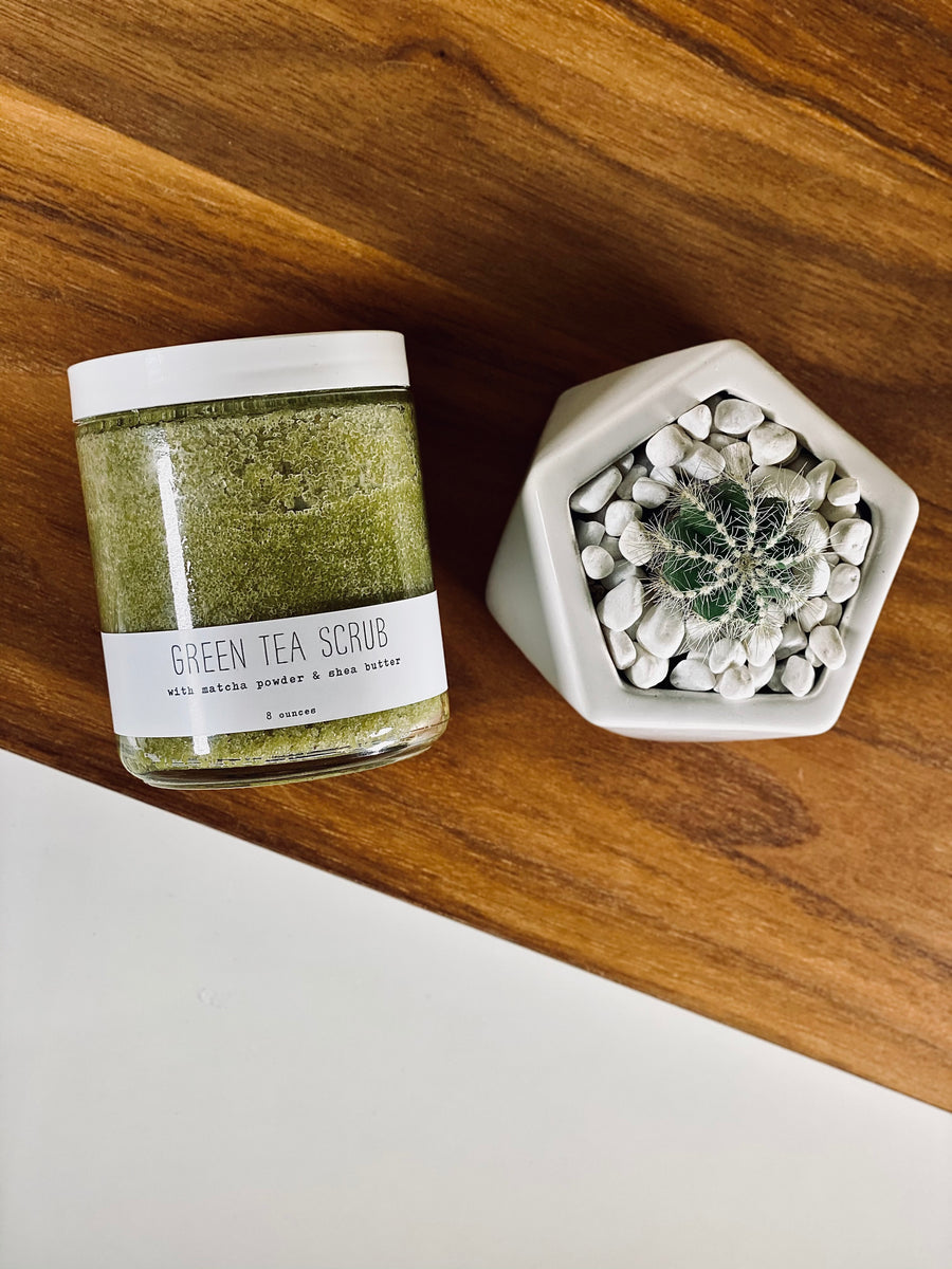 Green Tea Scrub - Seasonal