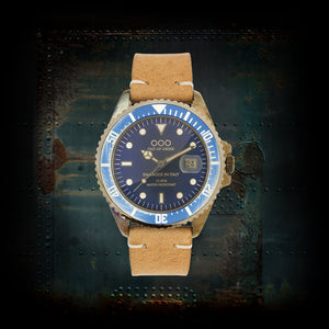 Blue And Light Brown ø40 mm