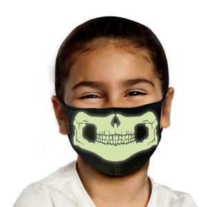 Kids Halloween Masks - Glow In The Dark Limited Edition