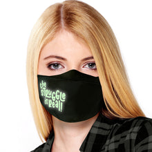 Load image into Gallery viewer, Novelty Reusable Face Masks for Adults | Glow in the Dark! | 25+ Designs | USA MADE | Adjustable Washable Cloth Mouth Masks with Elastic Straps for All Day Use