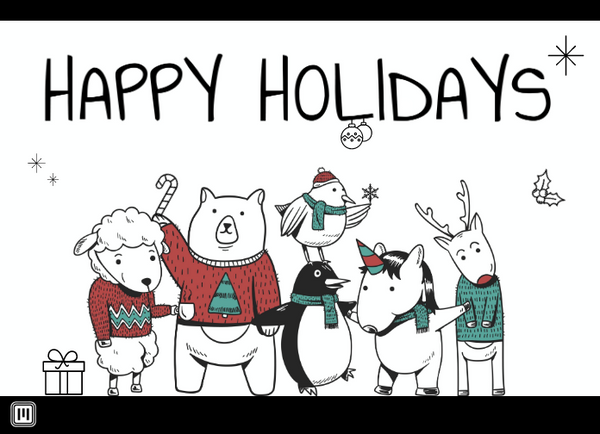 Smart Postcard  - 2020 Holiday #6