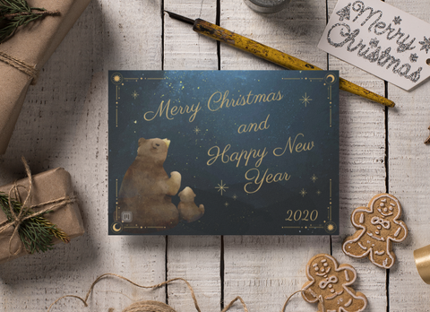 Smart Postcard  - 2020 Holiday #5