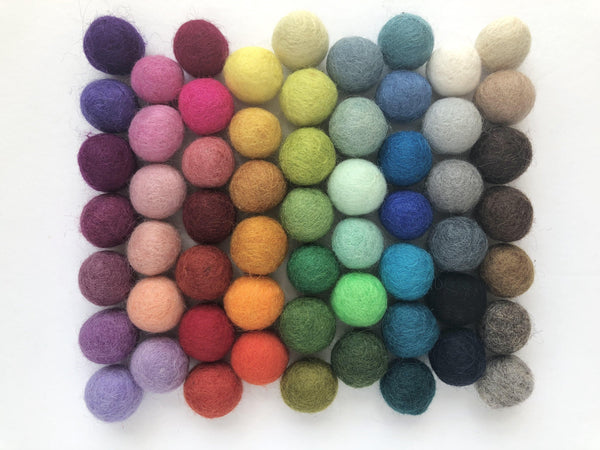 Small Solid Wool Kitten Toys